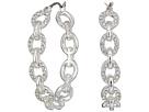 LAUREN Ralph Lauren LAUREN Ralph Lauren Crystal Pave Link Hoop Earrings