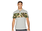 Original Penguin Short Sleeve Printed Chest Block Relaxed Fit Polo