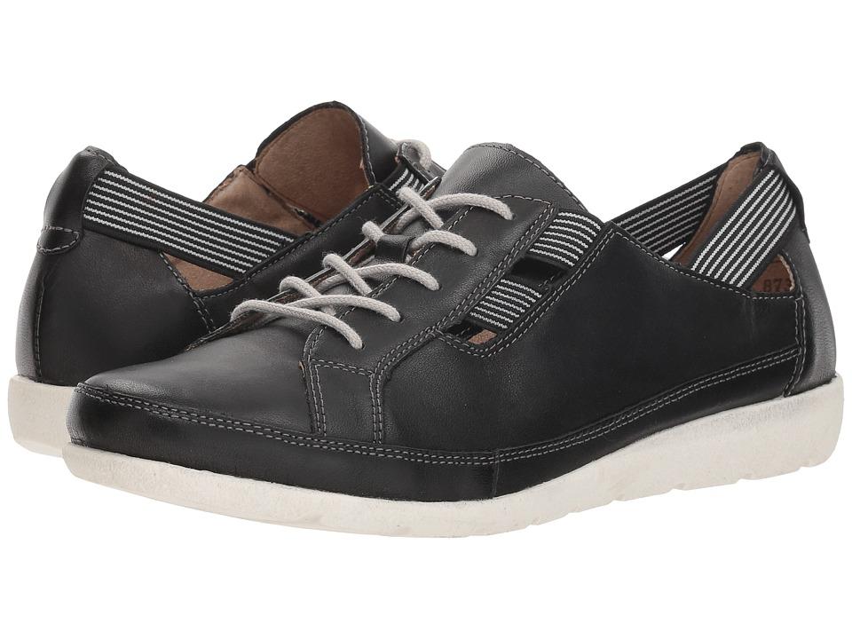Rieker D1917 Malea 17 (Black/Black/White) Women's Shoes
