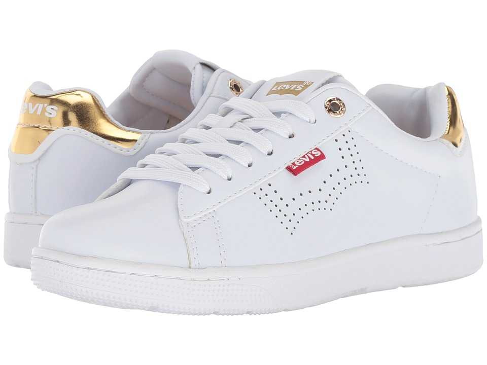 Levi's Shoes Selena UL (White/Gold) Women's Shoes