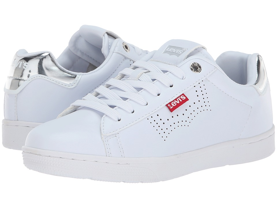 Levi's Shoes Selena UL (White/Silver) Women's Shoes