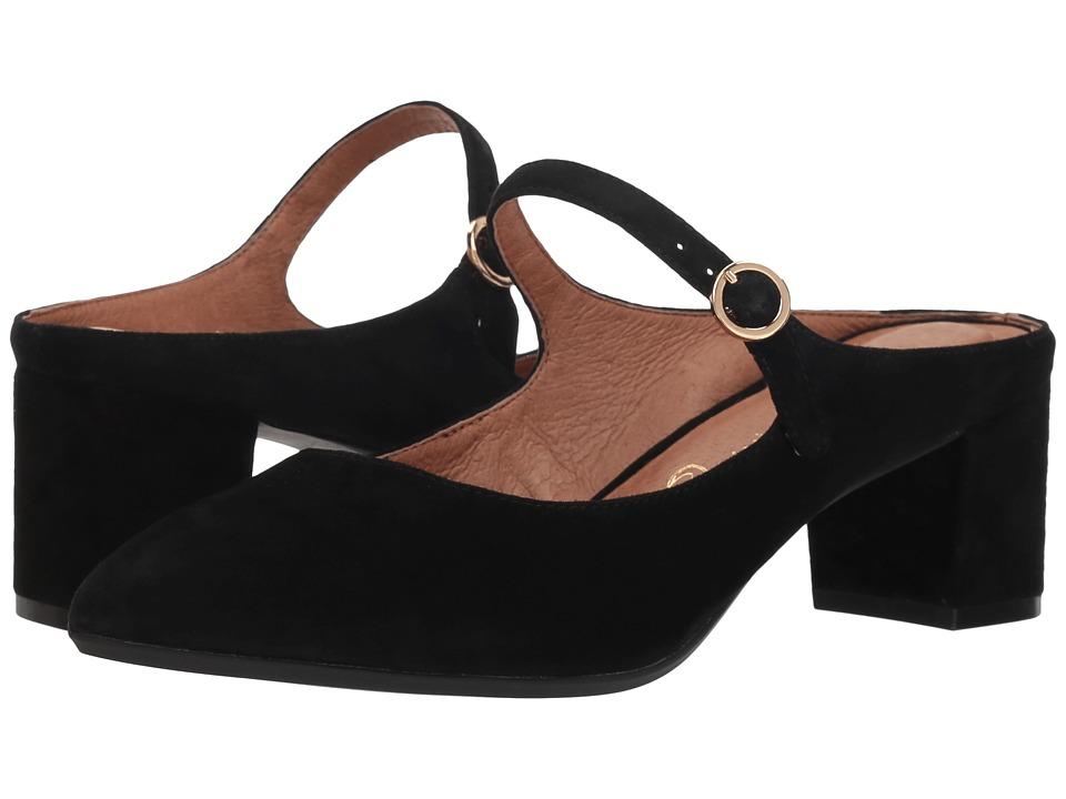 Sudini Barletta (Black Kid Suede) Women's Shoes