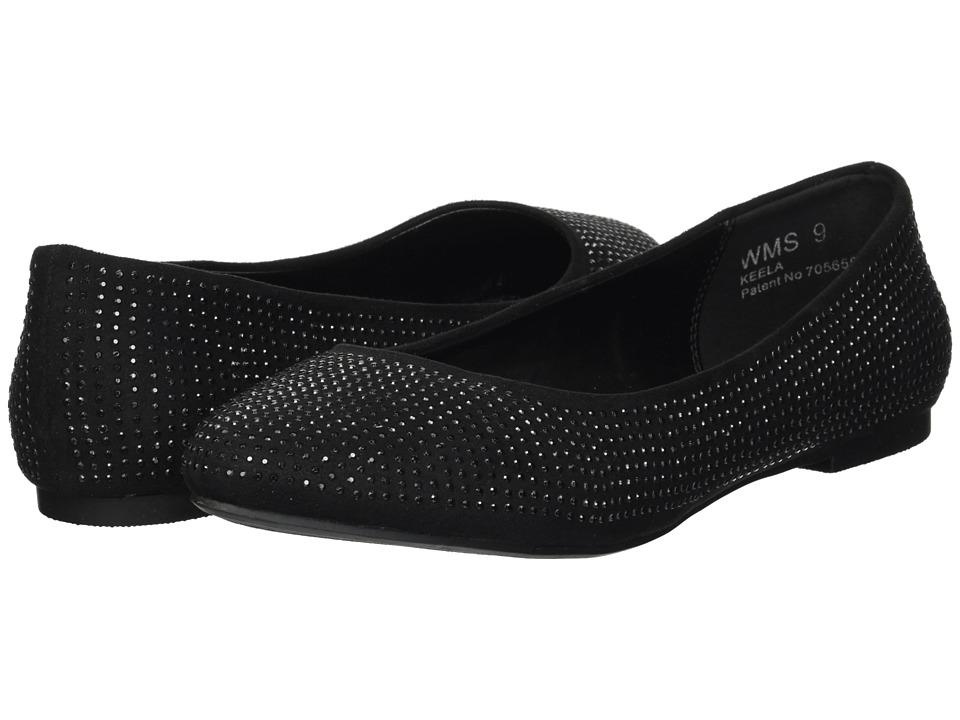 Report Keela (Black Fx's) Women's Shoes