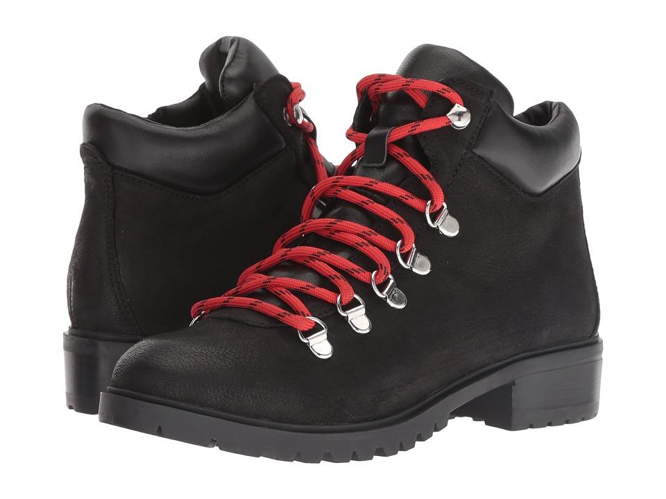 Steve Madden Lora (Black Leather) Women's Shoes