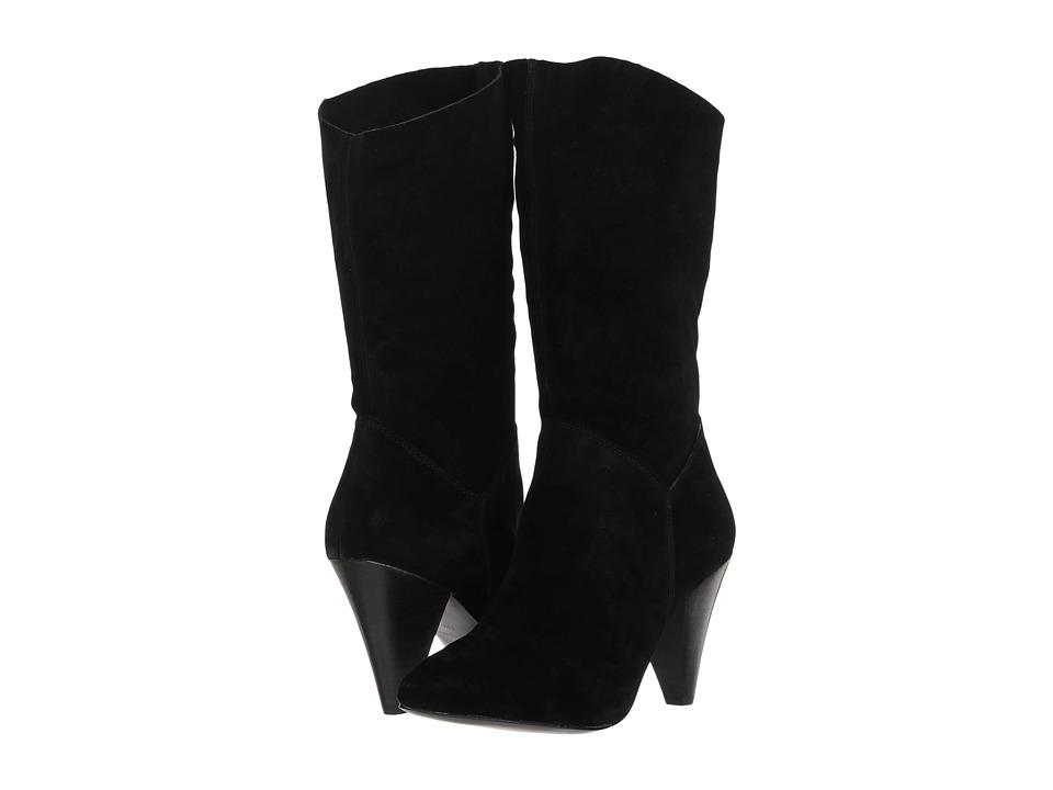 Steve Madden Rein (Black Suede) Women's Shoes