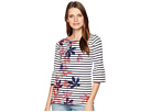 Joules Frances Fluted Sleeve Jersey Top