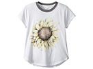O'Neill Kids Sunflower Pop Short Sleeve Screen Tee (Big Kids)