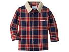 SUPERISM Lincoln Flannel Shirt w/ Sherpa Collar (Toddler/Little Kids/Big Kids)