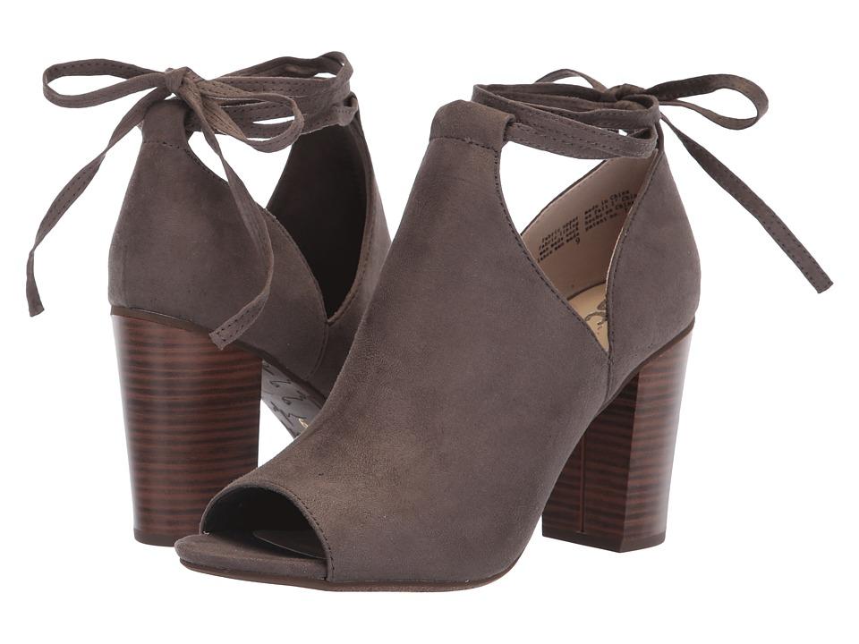 Seychelles BC Footwear By Seychelles Set Me Free (Grey V Suede) High Heels
