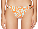 Letarte Fish Print Full Coverage Bottom with Rings