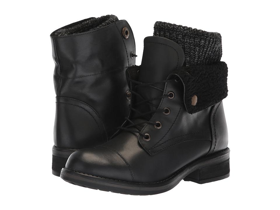 Musse&Cloud Carter (Black) Women's Lace-up Boots