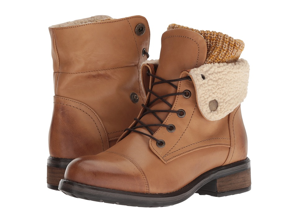 Musse&Cloud Carter (Tan Leather) Women's Lace-up Boots