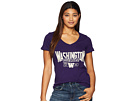 Champion College Washington Huskies University V-Neck Tee