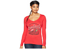Champion College Louisville Cardinals Long Sleeve V-Neck Tee