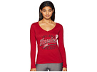 Champion College Indiana Hoosiers Long Sleeve V-Neck Tee