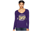 Champion College LSU Tigers Long Sleeve V-Neck Tee