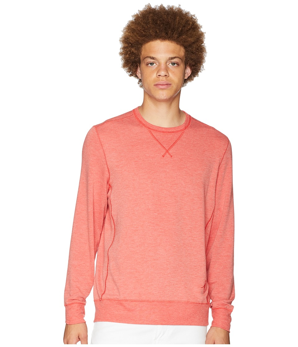Toes on the Nose Growler Long Sleeve Crew Pullover (Nantucket) Men