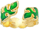 Alex and Ani Palm Leaf Adjustable Ring - Precious Metal