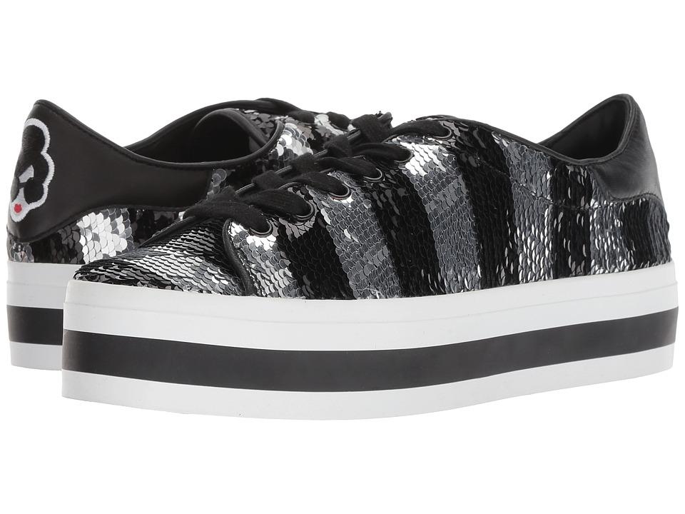 Alice + Olivia Ezra (Black/Silver) Women's Shoes
