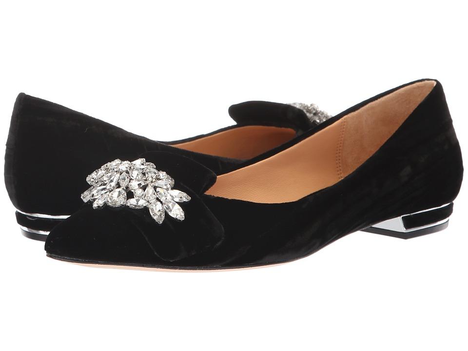 Badgley Mischka Valeria (Black Velvet) High Heels