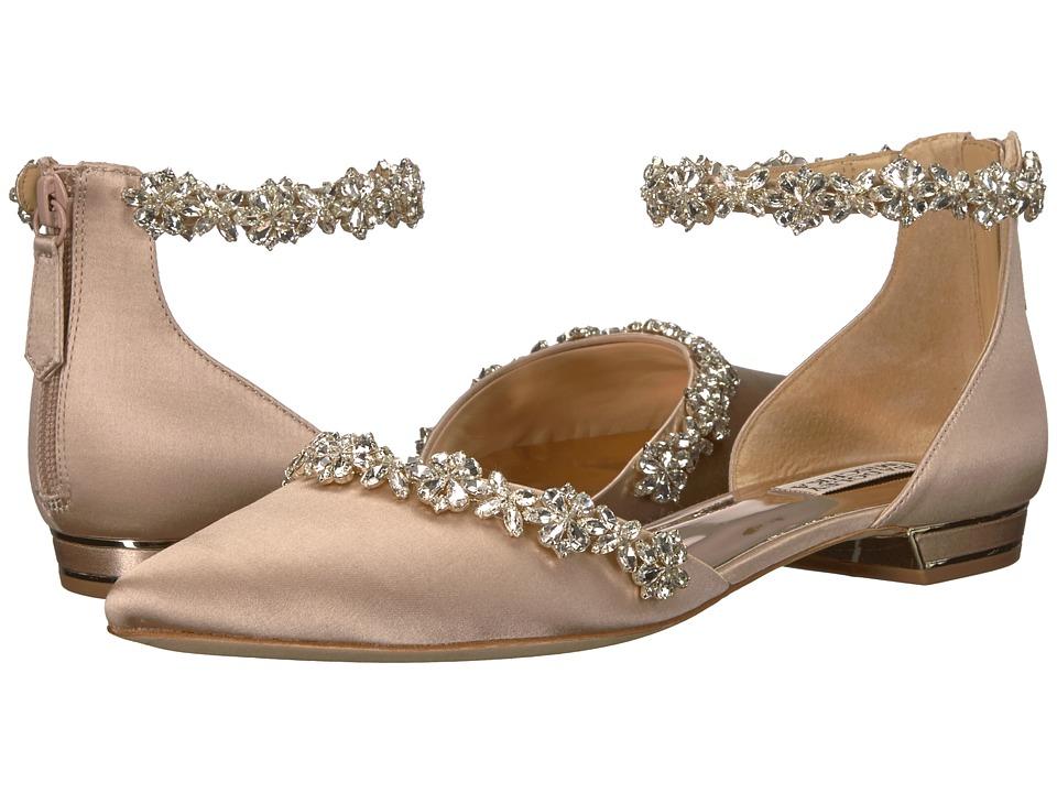 Badgley Mischka Vivien (Latte Satin) High Heels