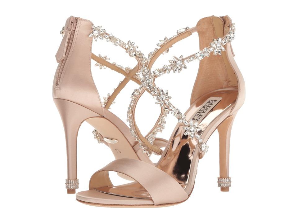 Badgley Mischka Venus (Latte Satin) High Heels