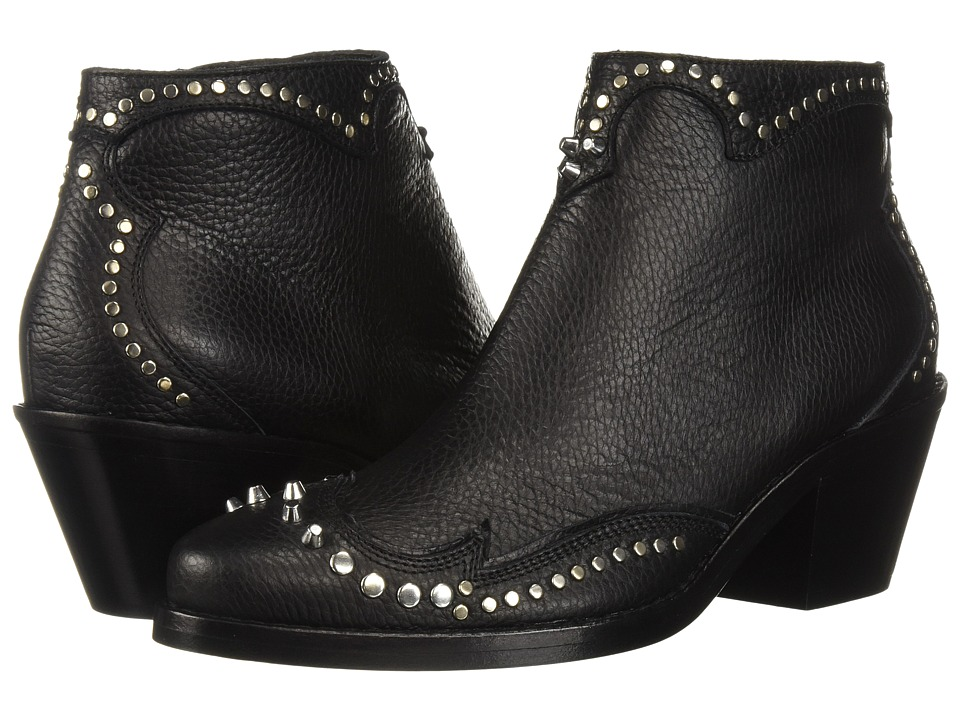 McQ New Solstice Zip Boot (Black)