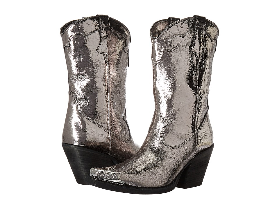 McQ Tammy Pull-On (Silver) Women's Pull-on Boots