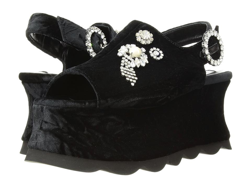 McQ Cecily Sandal (Black) Sandals