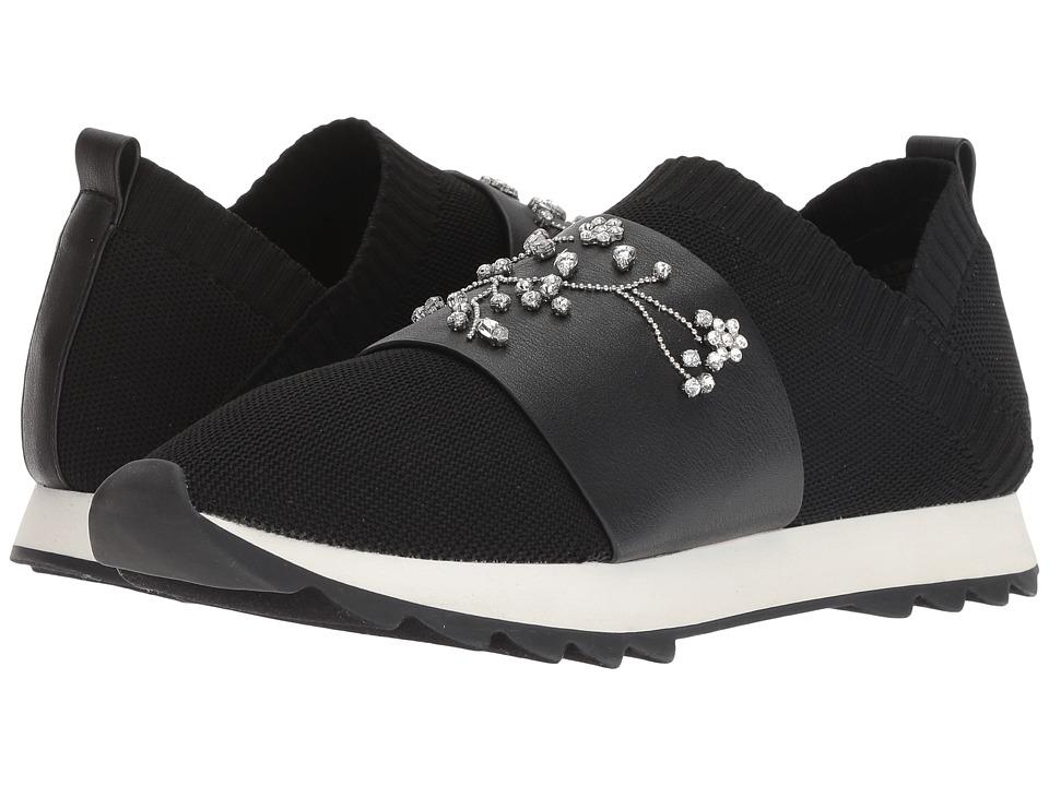 Nanette nanette lepore Lourie (Black Knit) Women's Shoes