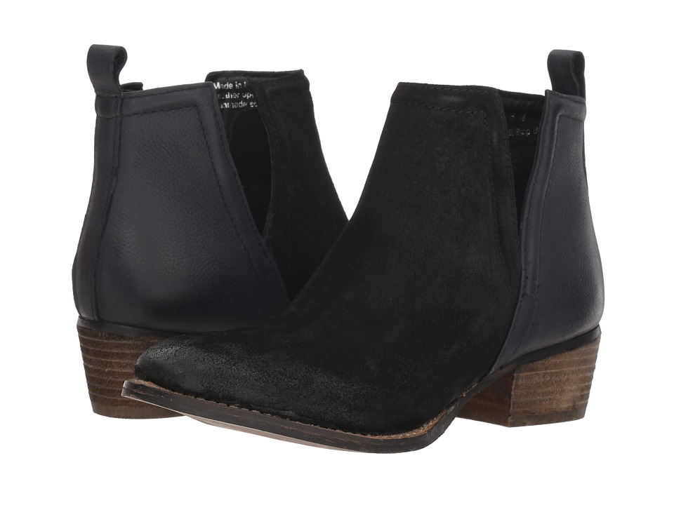 Diba True Stop By (Black Suede/Leather)