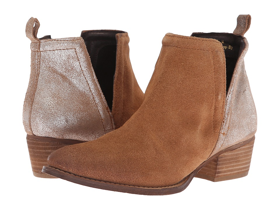 Diba True Stop By (Whiskey/Cognac Suede/Leather)