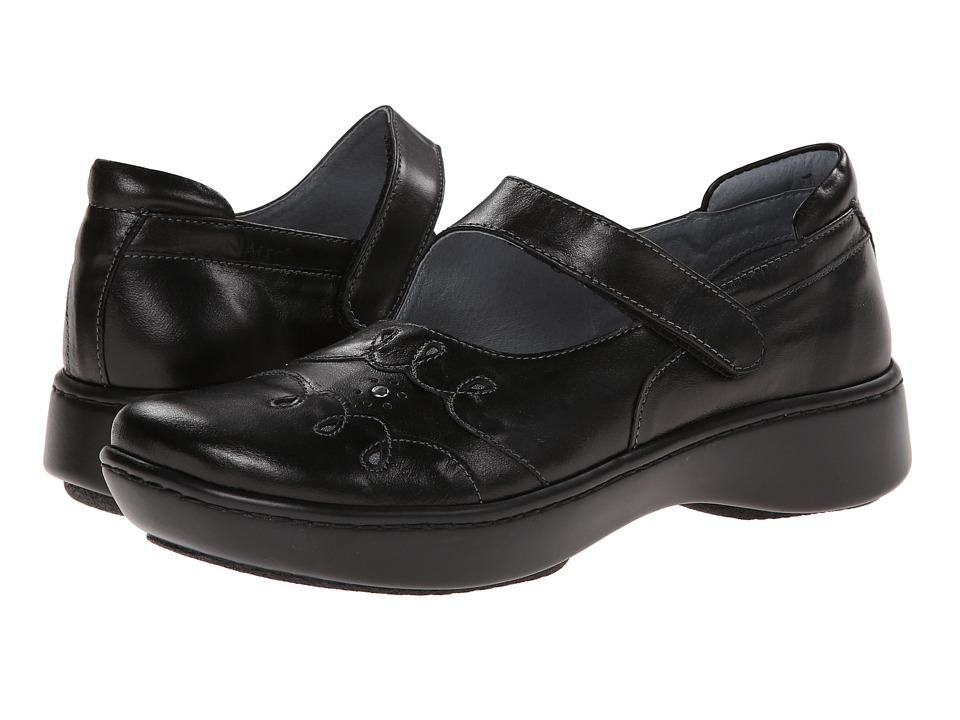Naot Footwear Coast (Black Midnight Leather) Maryjane Shoes