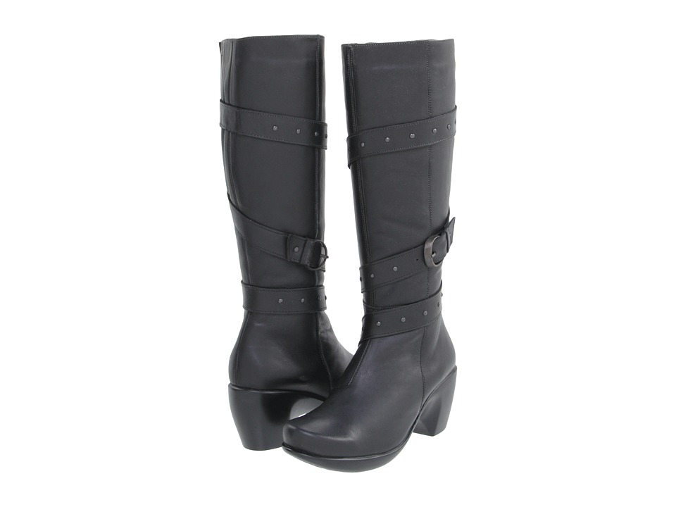 Naot Footwear Allure (Jet Black Leather) Women