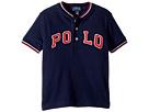 Polo Ralph Lauren Kids Cotton Mesh Henley Shirt (Toddler)