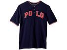 Polo Ralph Lauren Kids Cotton Mesh Henley Shirt (Big Kids)