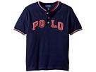 Polo Ralph Lauren Kids Cotton Mesh Henley Shirt (Little Kids/Big Kids)