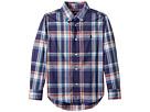 Polo Ralph Lauren Kids Plaid Stretch Cotton Shirt (Little Kids/Big Kids)