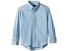 Polo Ralph Lauren Kids Indigo Cotton Chambray Shirt (Toddler)