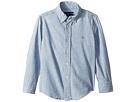 Polo Ralph Lauren Kids Indigo Cotton Chambray Shirt (Little Kids/Big Kids)