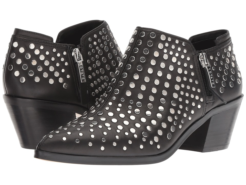 1.STATE Lexey (Black Eco Sheep) Women's Shoes