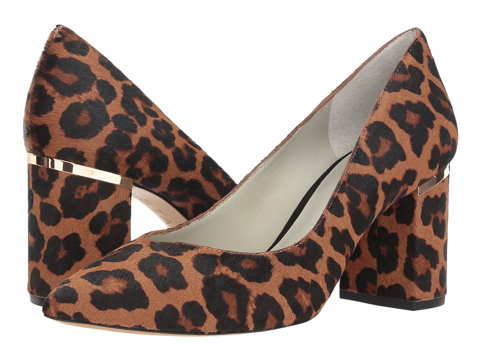 1.STATE Saffire 2 (Whiskey Multi/Leopard Haircalf) Women's Shoes