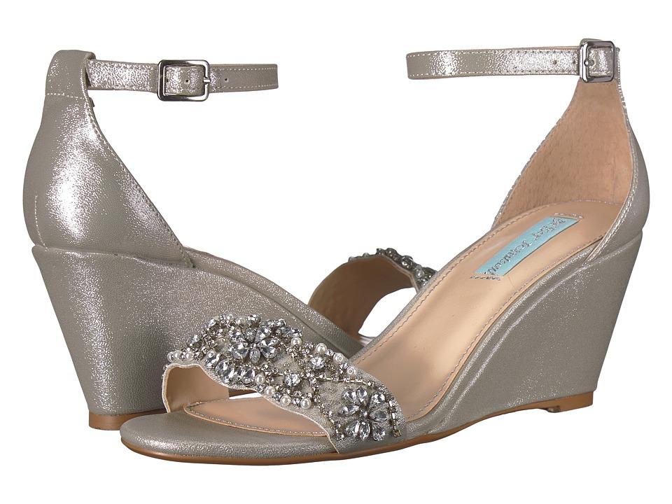 Blue by Betsey Johnson Taryn (Silver) Women's Shoes