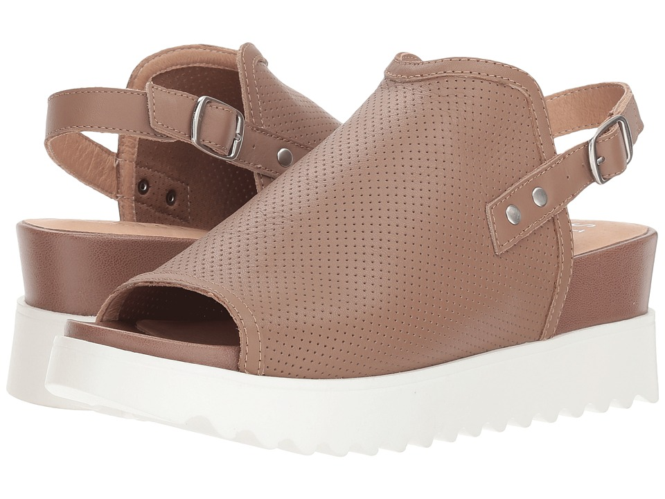 Steven NC-Kalo (Taupe Leather) Women's Shoes