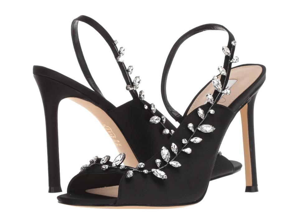 Nina Deanne (Black Satin) High Heels