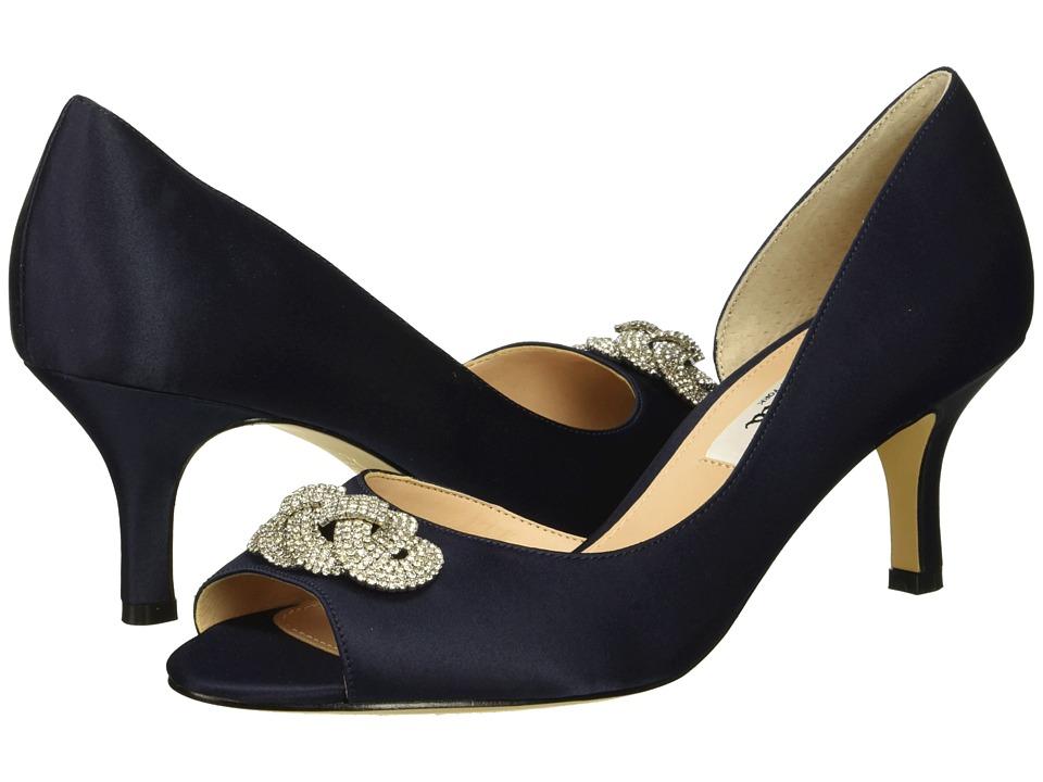 Nina Madolyn (New Navy Satin) High Heels