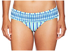 Vineyard Vines Golf Hope Bay Stripe Smocked Bikini Bottom