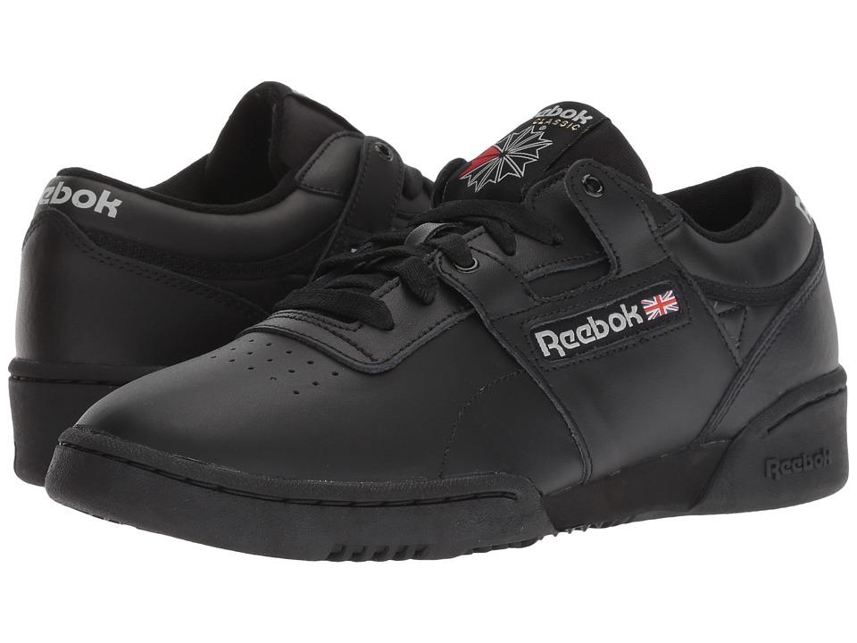 Reebok Lifestyle Workout Low (Black/Light Grey) Women's Shoes