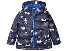 Joules Kids Skipper Waterproof Rubber Coat (Toddler/Little Kids)