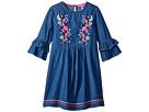 Joules Kids Applique Frill Dress (Toddler/Little Kids/Big Kids)